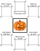Fall and Halloween Describe It! - No Prep Semantic Feature Analysis
