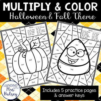 Fall and Halloween Multiply and Color
