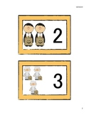 Fall and Halloween Number Cards 1-10