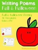 Fall and Halloween Poetry Pack: Acrostic, Cinquain, Haiku,
