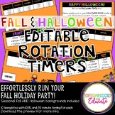 Fall and Halloween Rotation Timers