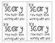 Fall and Halloween Themed Teacher Appreciation Note Tags