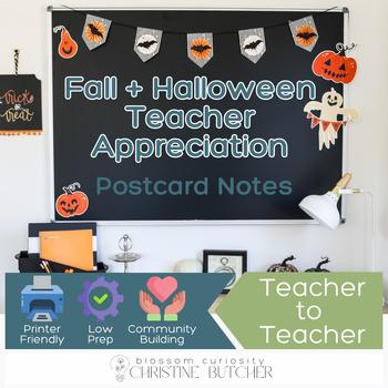 Teacher appreciation note teaching resources teachers pay teachers fall and halloween themed teacher appreciation note tags thecheapjerseys Images