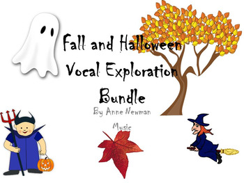 Fall and Halloween Vocal Exploration Bundle #halloweenmusictreats