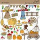 Fall and Thanksgiving Clip Art clipart
