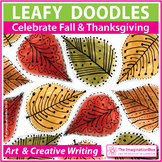 Fall and Thanksgiving Coloring Pages | Doodle Leaves