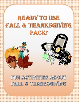 Fall and Thanksgiving Pack!