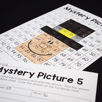 Thanksgiving Math Place Value Mystery Pictures-(Common Core Aligned!)