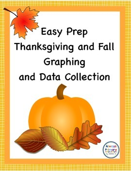 Fall and Thanksgiving Survey and Graphing Activity