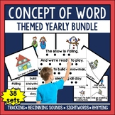 Concept of Word Intervention Program YEARLY BUNDLE