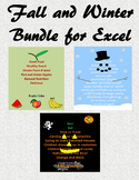 Fall and Winter Microsoft Excel Bundle of Savings!