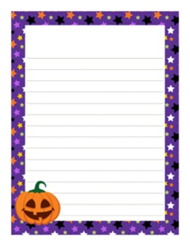 Fall and Winter Writing Paper Bundle