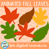 Fall autumn leaves silhouette animated GIFs