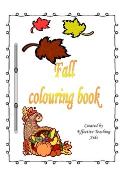 Fall colouring book
