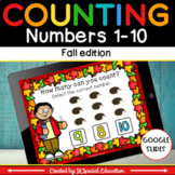 Fall counting within 10 DIGITAL GAME for distance learning