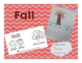 Fall cut apart sentences / small reader