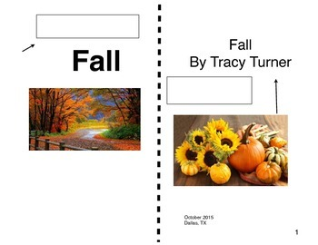 Fall expository book label