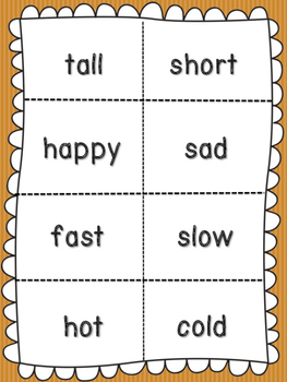 Fall for Antonyms