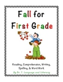 Fall for First Grade