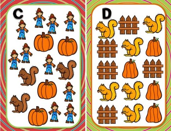 Fall for Kindergarten Math~ Core Enrichment Activities (Autumn Centers)