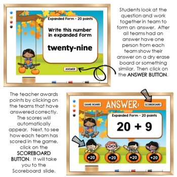 Place Value Game Show: Jeopardy Style Place Value PowerPoint Review Game