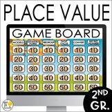 Place Value Game Show: Editable PowerPoint  2.NBT.1, 2.NBT.2, 2.NBT.3, 2.NBT.4