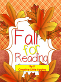 SALE!!{Fall for Reading} Perfect for K-2nd Graders! :)