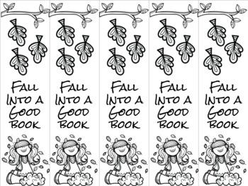 Fall girl 3 bookmark