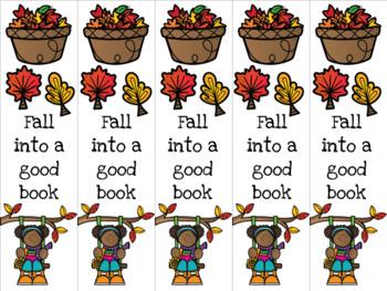 Fall girl 4 bookmark