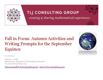 Fall in Focus: Autumn Activities and Writing Prompts for t