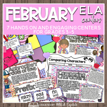 Fall in Love with February {ELA Centers}