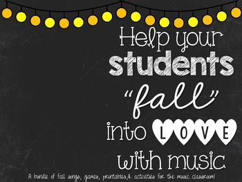 Fall in Love with Music Bundle