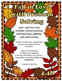 Fall in Love with Problem Solving (TEKS 4.4H) STAAR Practice