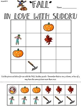 Fall Primary Sudoku