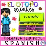 Fall in Spanish Flip Book - El otoño