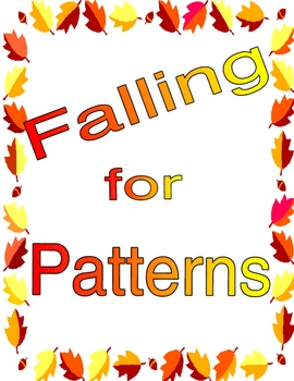 Fall-ing for Patterns Math Center