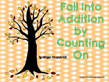 Fall into Addition by Counting On Game Board