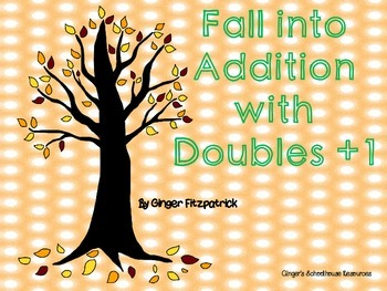Fall into Addition with Doubles +1 Game Board