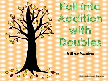 Fall into Addition with Doubles Game Board