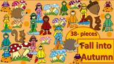 Fall into Autumn Clipart