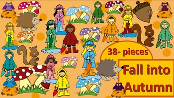 Fall into Autumn Clipart