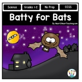 Fall Activities: Batty for Bats Activity Pack & Flip Book