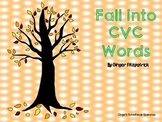 Fall into CVC Words Board Game