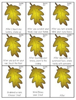 Following Directions Temporal and Conditional:  Fall into Directions