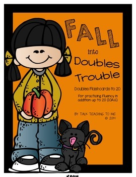 Fall into Doubles! Doubles Addition Flashcards to 20