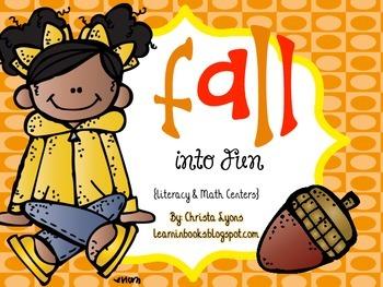 Fall into Fun! {Literacy & Math Centers}