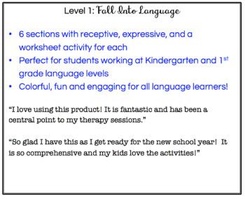 Fall into Language (Level 1)