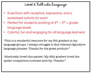 Fall into Language (Level 3)