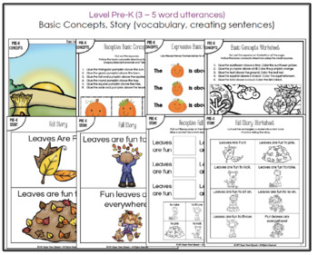 Fall into Language (PreK)
