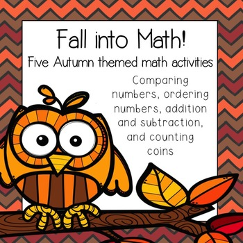 Fall into Math: Five Autumn Themed Math Activities